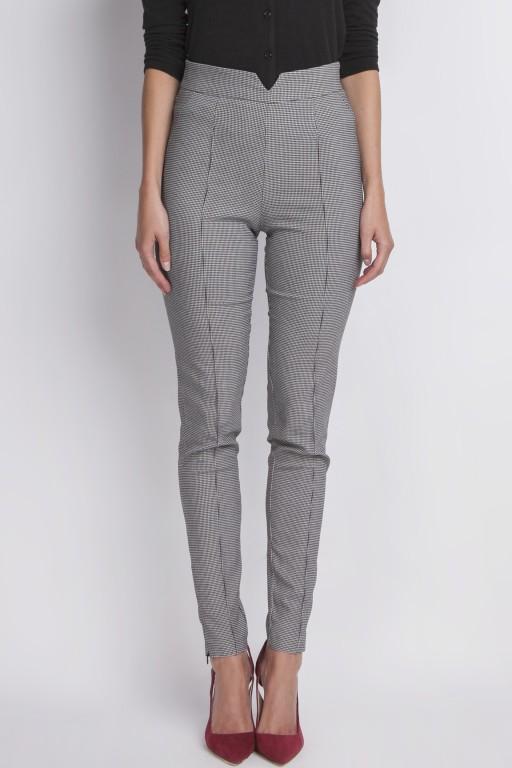 High waist trousers, pattern