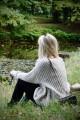 Oversizowy sweter, jasnobeżowy