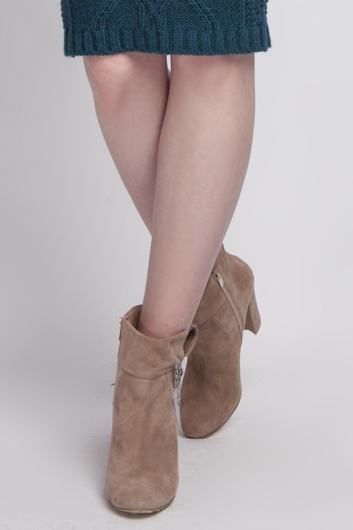 Handmade suede boots