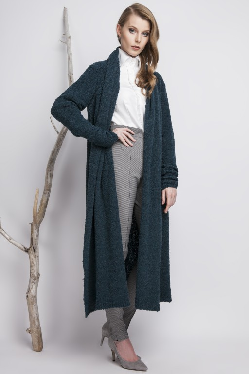 Oversize Bouclé coat