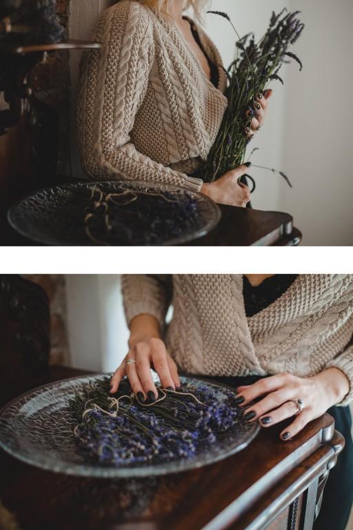 Bawełniany sweter z warkoczami i guzikami, beżowy