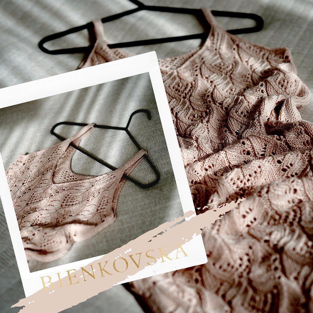 Co z tą wiosną? My już pracujemy nad letnią sukienką... 🌞Będzie jak zawsze subtelnie, świadomie, kobieco! #Bienkovska