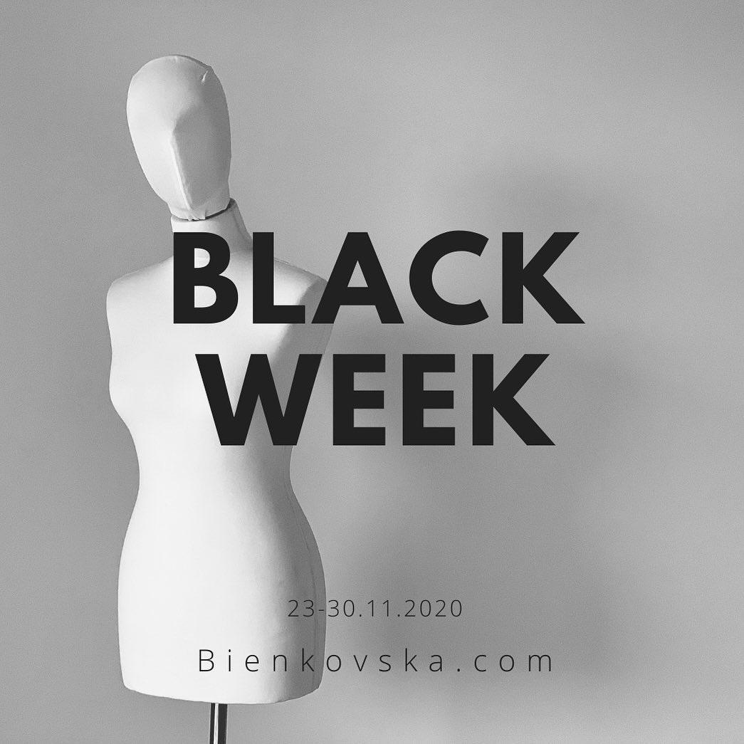 Kochani, zapraszam Was pięknie 🖤 www.Bienkovska.com #BlackWeek #Bienkovska