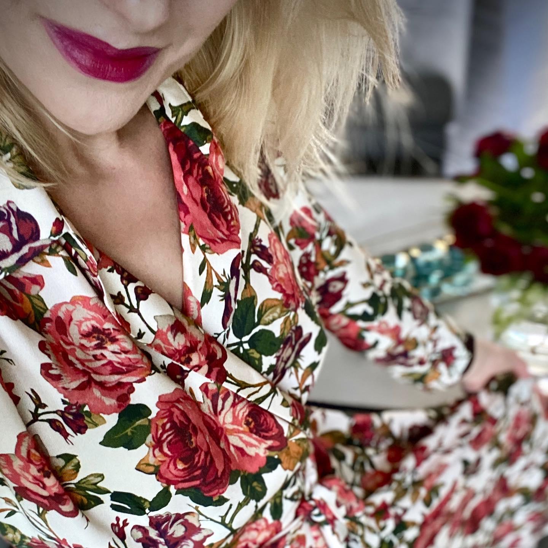 Pięknego, lipcowego dnia 🌹🌹🌹  #BienkovskaRose #sukienka
