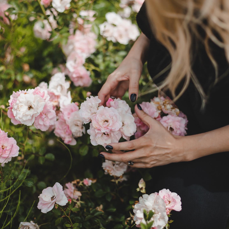 Buszująca w różach 💕💕💕 #new #cotton #knit
