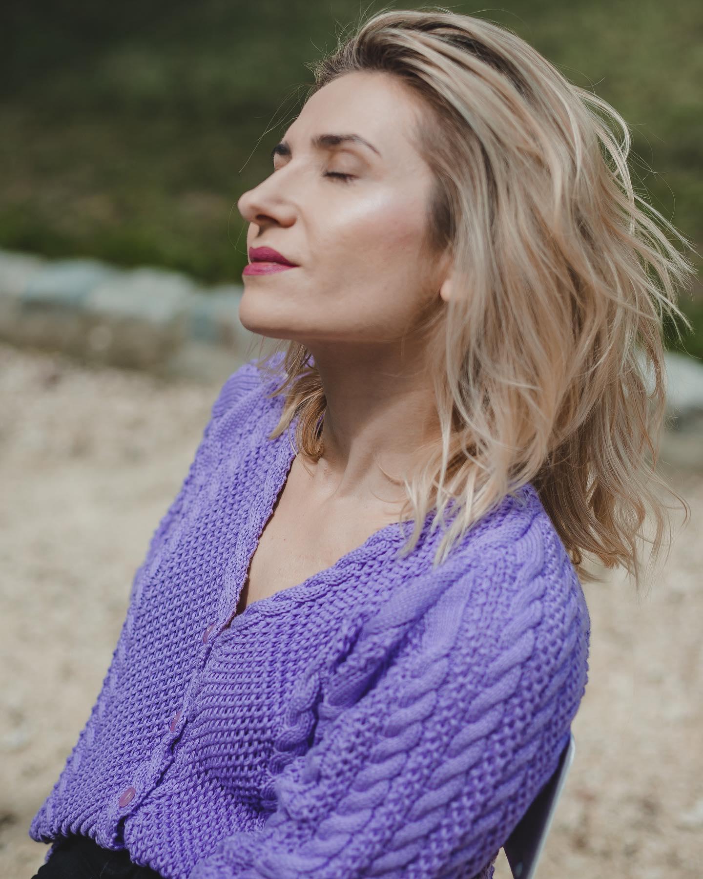 Lawendowo mi... 🦄  #BienkovskaLavender #new #cotton #summer #knitwear